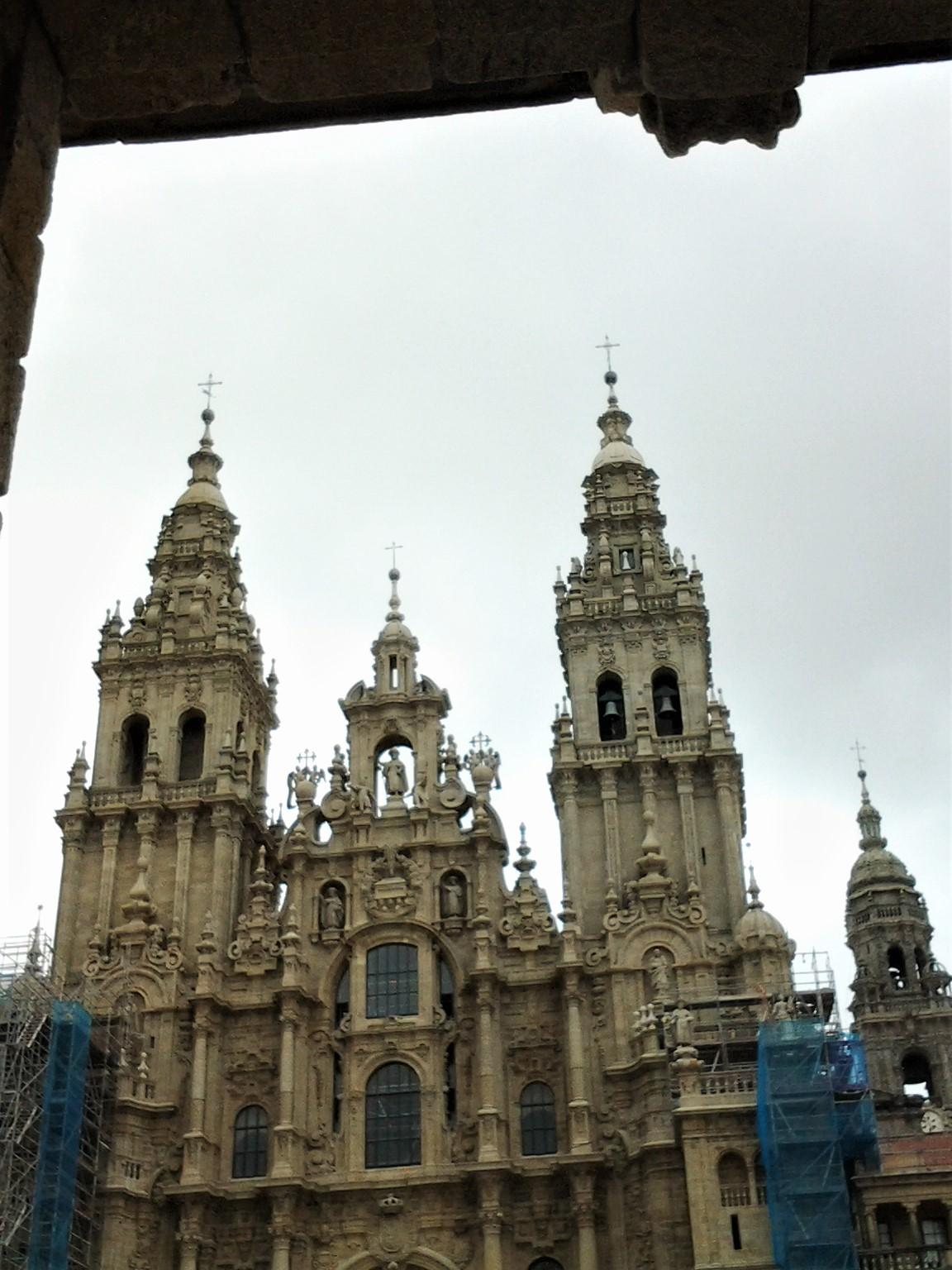 cathédrale à St Jacques de Compostelle